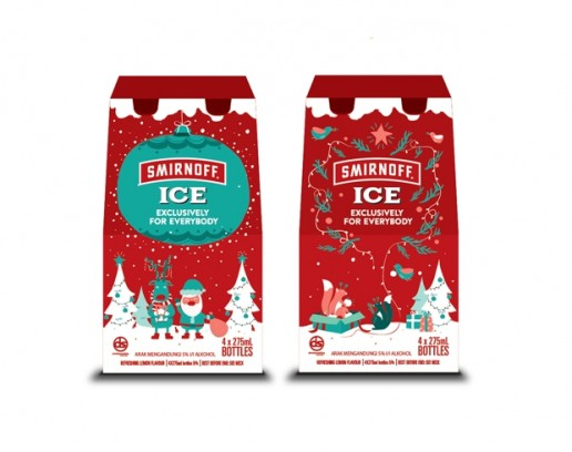 packaging smirnoff exclusivo